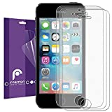 iPhone SE Screen Protector, Fosmon Anti-Glare (Matte) Screen Protector Shield for Apple iPhone SE / 5S / 5C / 5 - 3 Pack