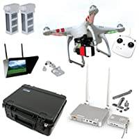 DJI Phantom 2 V2.0 HD Broadcast Bundle By Drones Made Easy Noticeable Review Image