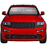 Car Windshield Sunshade - Keeps Out UV Rays, Protects Vehicle Interior and Keeps it Cool - Multiple Sizes (Medium (63