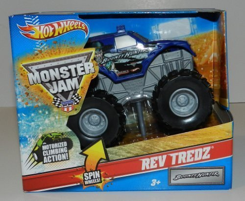 Hot Wheels Monster Jam Rev Tredz BOUNTY HUNTER Official