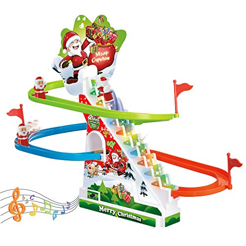 Race Track Set, Toddler Roller Coaster Toys with Lights and Music, Novelty Toys for Boys and Girls -