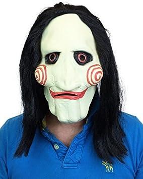 Saw Marioneta Estilo Látex Máscara de Halloween Billy Película ...