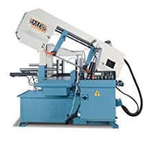 "Baileigh BS-24A Automatic Manual Band Saw, 3-Phase 220V, 5hp Motor, 1-1/2"" Blade, 18"" Round Capacity"
