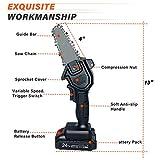 Mini Chainsaw Cordless 24V 2pcs Batteries, Amerfist