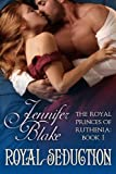Front cover for the book Royal Seduction by Jennifer Blake