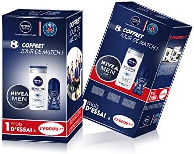 Nivea Men estuche de colección Paris Saint-Germain productos estrella + 1 Mes de prueba a lEquipe Premium: Amazon.es: Salud y cuidado personal