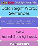 Dolch Sight Words Sentences: Level 4 - Second Grade (LOOK BOOK Dolch Sight Words Series)