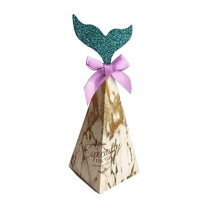 Amazon.com: Bestdoll - 50 cajas de caramelos con cinta de ...