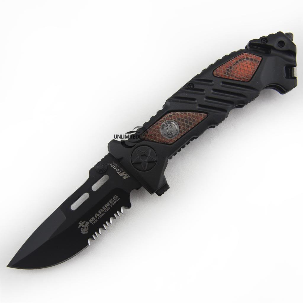 Marines Iron Mike Folding Knife (5.25-Inch Closed) by Marines (Image #2)