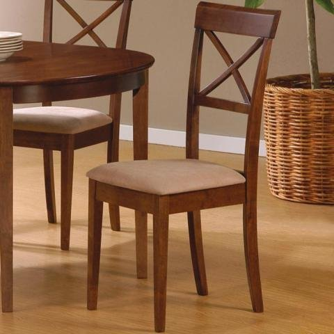 Coaster Dining Chairs Cross Back Design