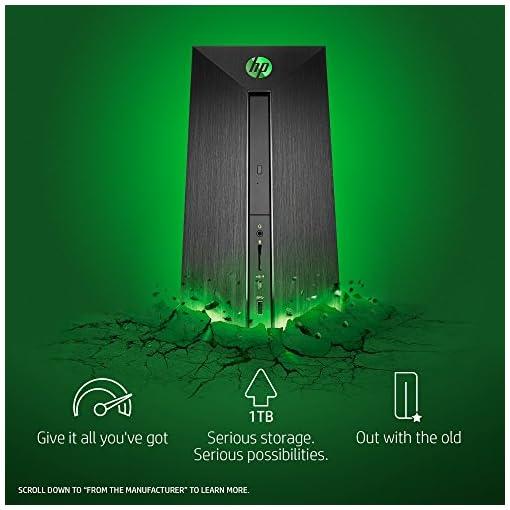 HP Pavilion Power Desktop Computer