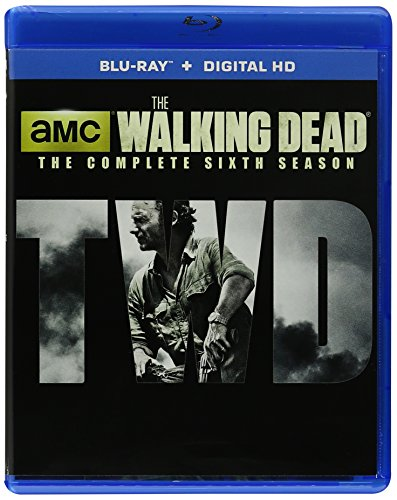 The Walking Dead: The Complete Sixth Season Walmart Exclusive Edition Bluray