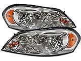 PERDE Chevy Impala/ Monte Carlo Chrome Halogen Headlights Pair Set