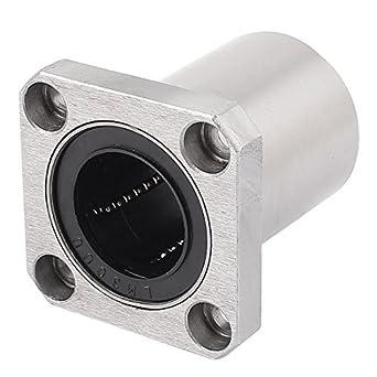 sourcingmap 2pcs SCS10 LM10UU 10mm Bore Linear Motion Ball Bearing 35mmx26mmx40mm Slide Bushing Block