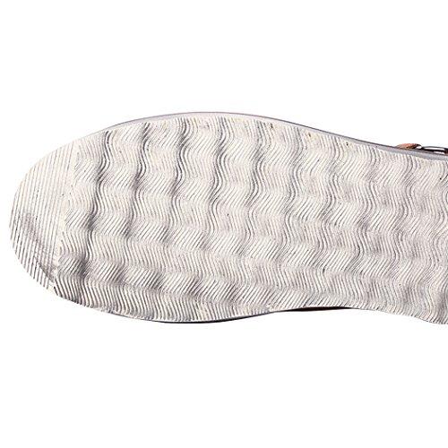 Soleil Lorence Mens Hiver Rétro Daim Britannique Cuir Lacets Chaud Fourrure Doublée Cheville Bottes De Neige Chaussures De Travail Marron