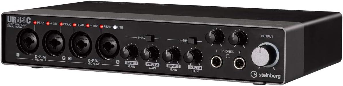 スタインバーグ Steinberg USB3.0 オーディオインターフェイス UR44C<br /> のサムネイル画像