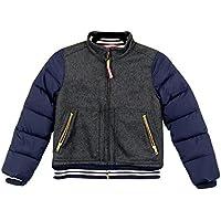 17275a42b J Crew Crewcuts Girls' Mixed-Media Varsity Jacket Style# A8926 HCH New Size