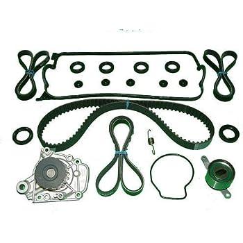 timing belt kit replacement for honda civic 1 6l lx dx ex hx cx (1996 1997  1998 1999 2000)