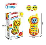 SUGOO Toys Phone for 6 Months Old Boys Baby Girl, Toy Phone for 1 Year Old Baby Boy Girl Kid...