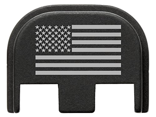 Fixxxer Gen 5 Rear Cover Plate Glock (American Flag design) Fits Most Models (Not G42, G43) Fits Gen 5 Only by Fixxxer