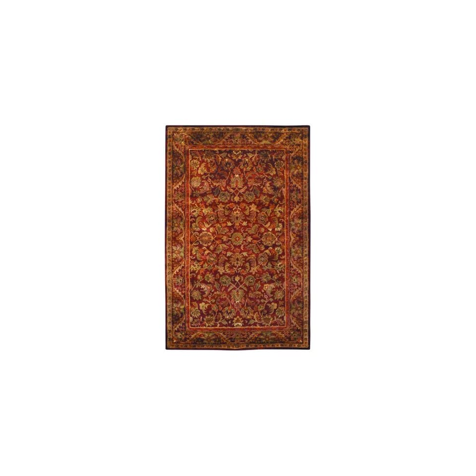 Antiquities Majesty Wine/Gold Rug Rug Size Square 6