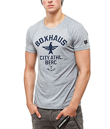 BOXHAUS Brand SOAR T- Shirt Grey