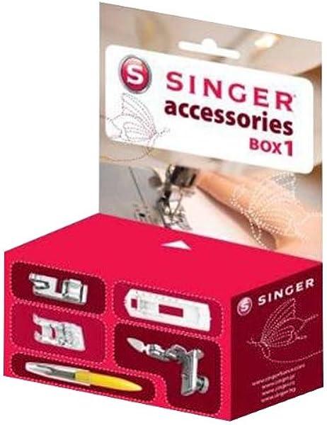 Singer 292117 Box 1 - Caja de Accesorios para máquina de Coser ...
