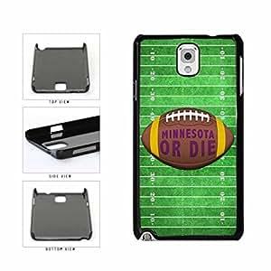 Minnesota or Die Football Field Plastic Phone Case Back Cover Samsung Galaxy Note III 3 N9002
