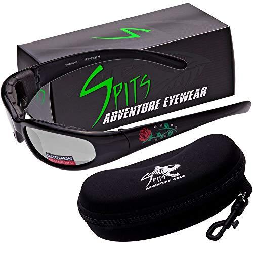 (Chic Foam Padded Rose Sunglasses Various Lenses Lens Options including Photochromatic Lenses (Photochromatic Clear/Smoke))