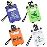 200 Custom Travel Tote Luggage Tag Imprinted with Your Logo or Message