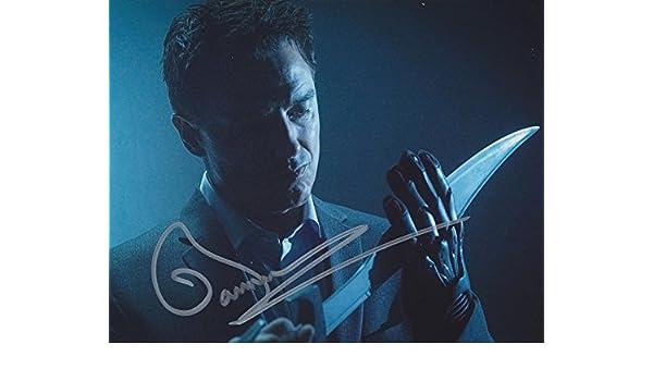 d4e6b5175 JOHN BARROWMAN as Malcolm Merlyn - Arrow GENUINE AUTOGRAPH at ...