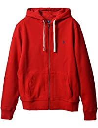 Classic Full-Zip Fleece Hooded Sweatshirt