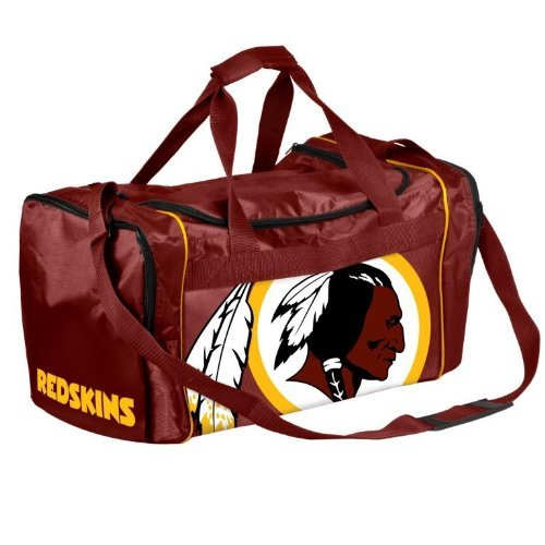 NFL Washington Redskins Locker Room Collection Medium Duffle Bag (Locker Washington Redskins Room Nfl)