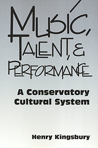 Download Music Talent & Performance: Conservatory Cultural System pdf