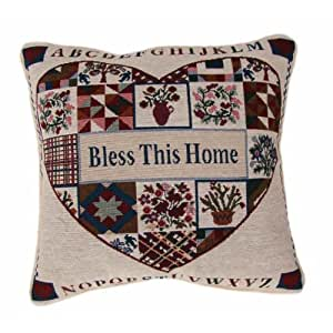 American Mills Bless This House Pillow 16 By 16 Inch Set Of 2 Home