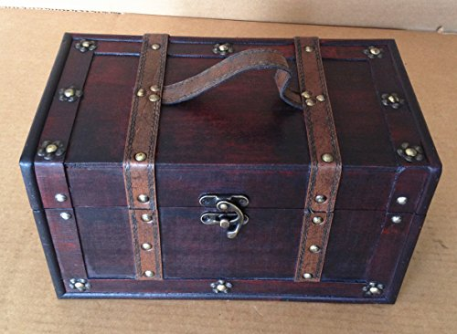 Replica Vintage-Style Wooden Box (HF 001-A) by HUAFENG TRADING INC
