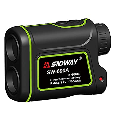 Sndway 600M/656Yard Laser Rangefinder with Distance, Height, Speed and Angle for Golf and Hunting by DongGuanSndwayElectronicCo.,Ltd.