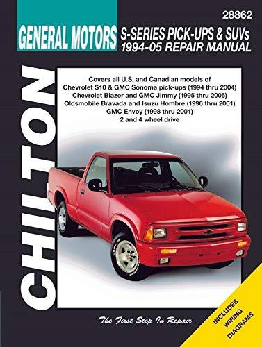 (Chevy S-10, Blazer; GMC Sonoma, Envoy, Jimmy; Olds Bravada, Isuzu Hombre 1994-2005)