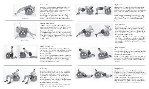 SPRI Xercise Ball, Balance Ball, 55-centimeter