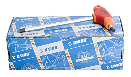 Unior 8Piece Metric T-Handle Hex Wrench Set by Unior