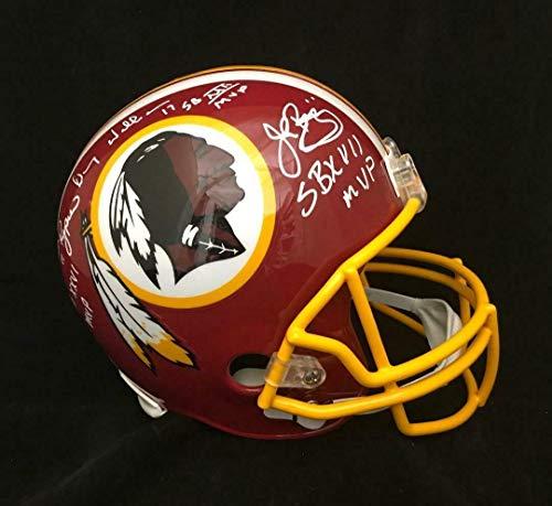 Washington Redskins SB MVP'S Autographed FS Helmet John Riggins Williams - JSA Certified - Autographed NFL Helmets ()