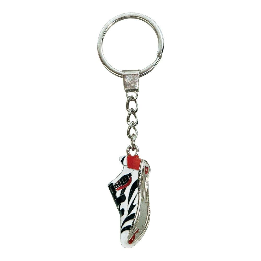 ebos Schlüsselanhänger ✓ aus Metall ✓ Accessoire | fob Key | Sport | Sportarten (Bergschuh / orange-schwarz) ebos GmbH 330-7091000