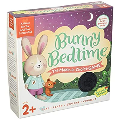 Peaceable Kingdom Bunny Bedtime The Make a Choice Game for You and Your 2 Year Old: Toys & Games