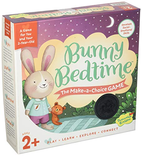 Peaceable Kingdom Bunny Bedtime The Make a Choice Game for You and Your 2 Year Old ()