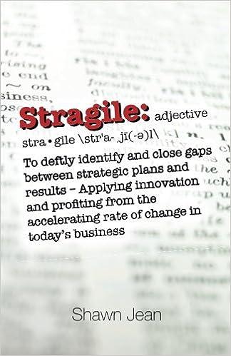 Book Stragile by Shawn Jean (2016-04-26)