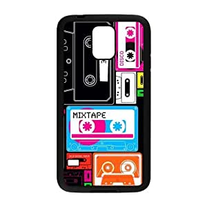 Nymeria 19 Customized Cassette Tape Diy Design For Samsung Galaxy S5 Hard Back Cover Case DE-28