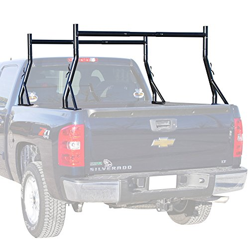 Rage Powersports SLR-RACK-DLX Deluxe Dual Support Pickup Truck Bed Ladder and Utility Rack by Rage Powersports