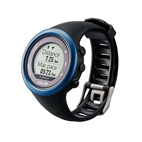 Waterproof GPS Watch Outdoor Smart Sport Golife 820i Watch both for Men and Women Triathlon Running Swimming Hiking Cycing(Blue)