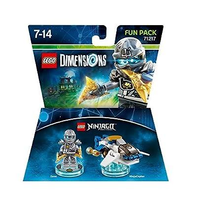 LEGO Dimensions Fun Pack: LEGO Ninjago Zane by LEGO: Toys & Games