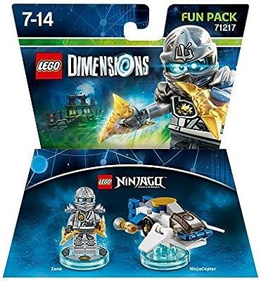LEGO Dimensions Fun Pack: LEGO Ninjago Zane by LEGO: Amazon.es ...